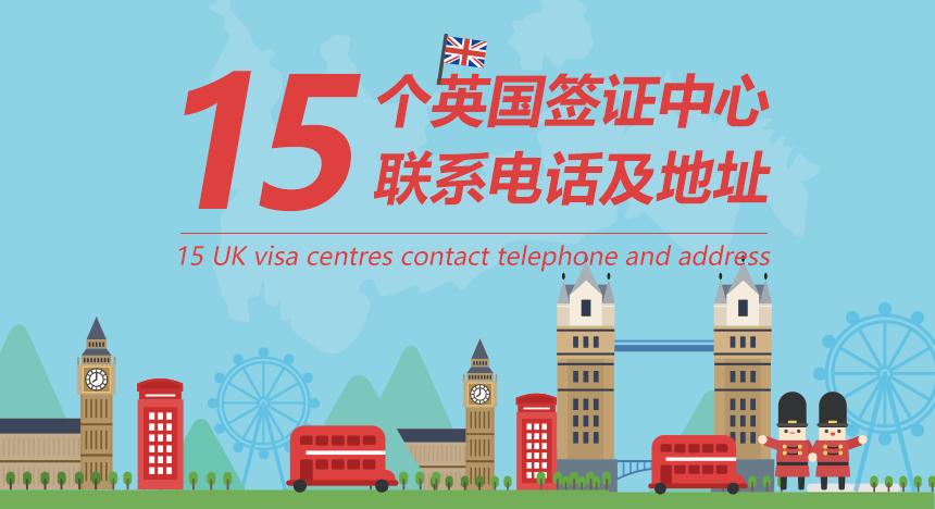【收藏】15个英国签证中心联系电话与地址