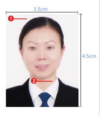 英国签证材料照片模板